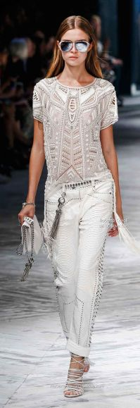 Roberto Cavalli Spring 2014 New York Fashion Week
